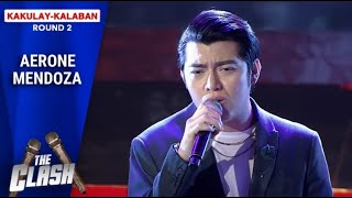 "Aerone Mendoza finishes beautifully with ""Kung Wala Ka"" 