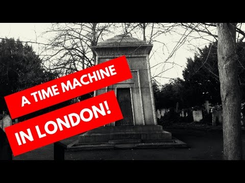 Time Machine in a London Cemetery #Death