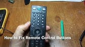 How to Fix & Clean Your Remote Control Buttons - YouTube