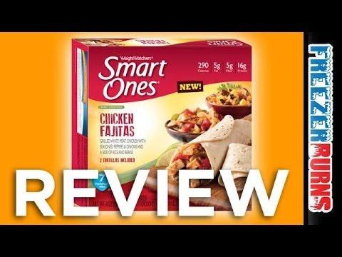 weight-watchers-smart-ones-smart-creations-chicken-fajitas-video-review:-freezerburns-(ep653)