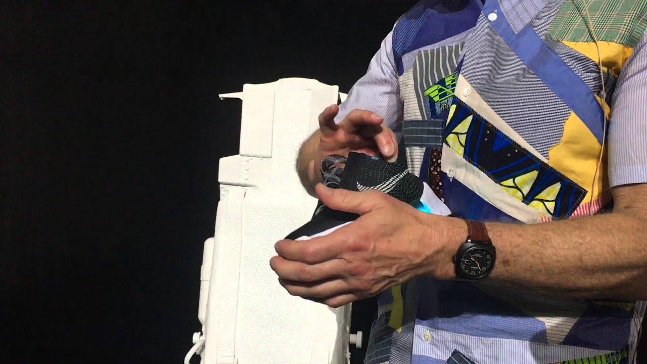 Nike HyperAdapt 1.0 Power Lacing Sneakers Hands On