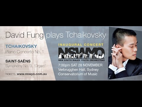 Pianist David Fung - interviewed by Harry Godber for NSWYO