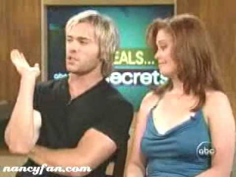 JohnPaul Lavoisier and Melissa Archer SoapNet ! 2005!