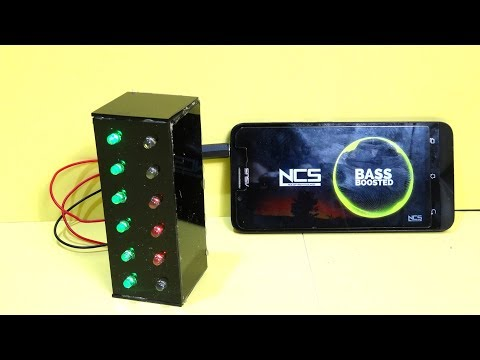 How to make Stereo MUSIC REACTIVE LED LIGHTS | Simple & Awesome
