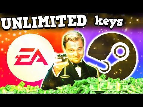 UNLIMITED STEAM KEY FARMING WITH EA PLAY IS BROKEN - Steam Is Perfectly Balanced With No Exploits