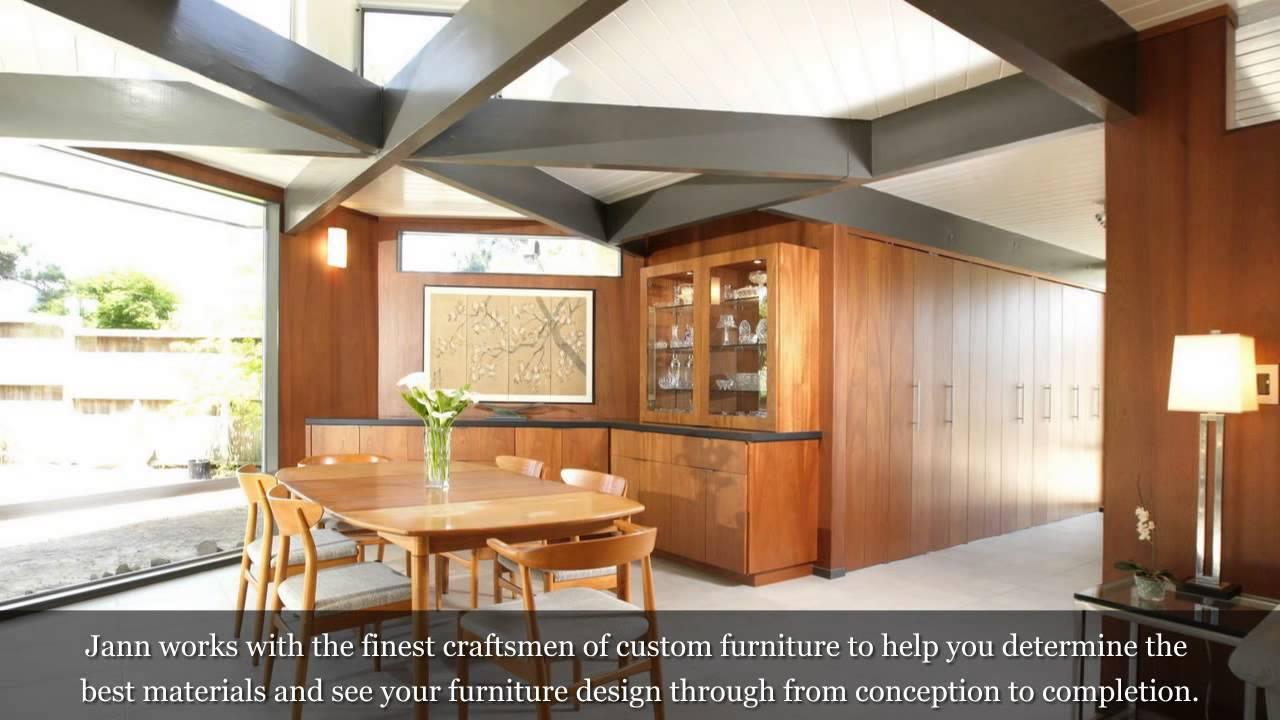Furniture Design Houston jann wisdom's custom furniture design in houston, tx - youtube