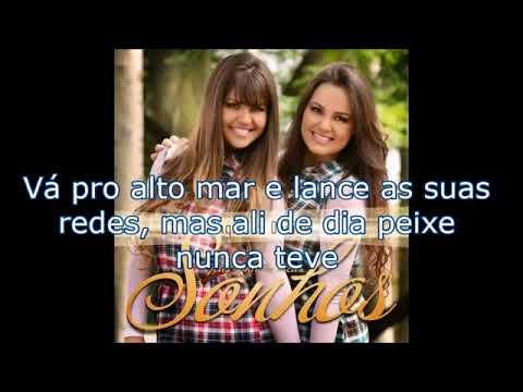 Ingrid e Daiane O Fracasso não é o fim Playback MEIO TOM ABAIXO