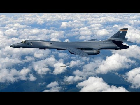 2 US Bombers fly near N.Korea- Israel says will intensify response to Syrian fire & more news!