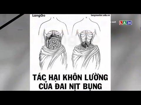 Cẩn trọng khi dùng đai nịt bụng | LONG AN TV