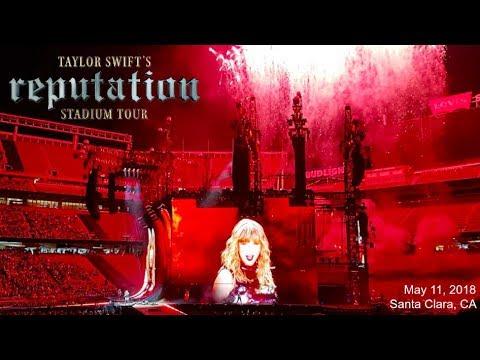 TAYLOR SWIFT - REPUTATION TOUR VLOG // Santa Clara Night 1 | ilyylaur