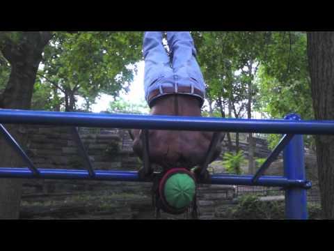 Badass park workout by Ryder - Marcus Garvey Park - Harlem New York City