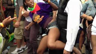 London Carnival 2012 POLICE whining