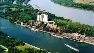 Dunaújváros Légifelvétel