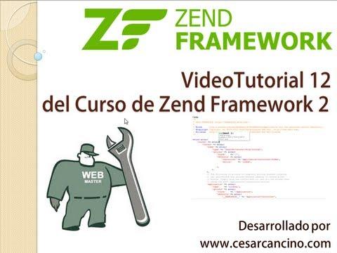 VideoTutorial 12 del Curso de Zend Framework 2 ( ZF2 ). Trabajo con formularios y MySQL