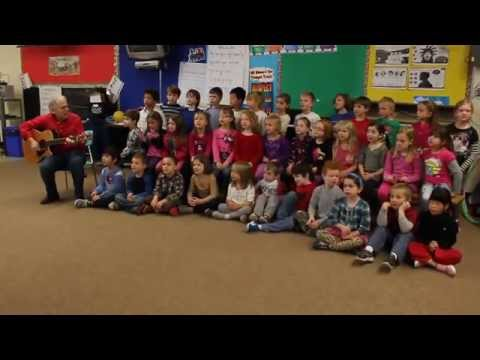Kids At Central Public School Guelph Singing Dashing Through The Snow