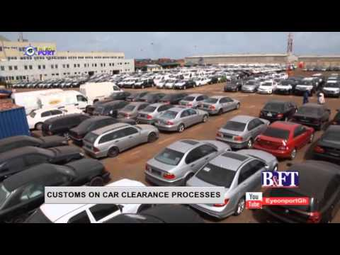 CUSTOM ON CAR CLEARANCE PROCESS