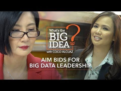 What's The Big Idea? AIM bids for big data leadership