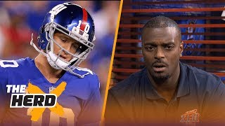 Plaxico Burress joins Colin to talk Super Bowl 42, struggling Giants and NFC favorites | THE HERD