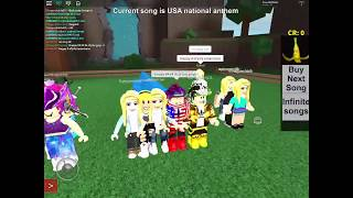 Playing The National Anthem In Roblox Games