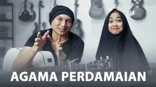 DEEN ASSALAM - MAKNA LAGU & COVER | Feat. Ria Ricis MP3