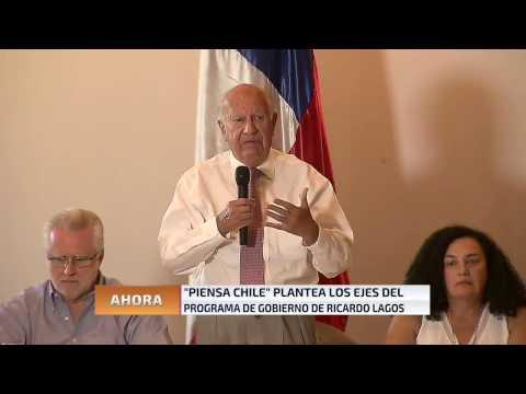 Ricardo Lagos plantea ejes centrales de sus propuestas como precandidato
