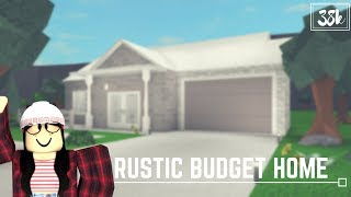 Roblox: Welcome to Bloxburg | Rustic Budget Home (38k)