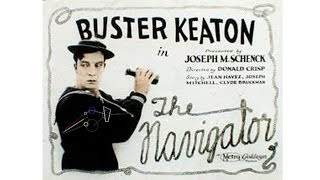 "Buster Keaton's ""The Navigator"" (1924) ✄ with ""Surreal Road"" by Kari Tribble"