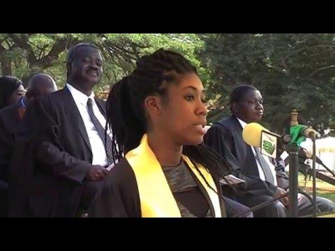 Matriculation 2015 University of Ghana . Expectations speech of student