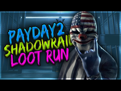 PAYDAY 2: ShadowRaid DW Loot Run (4 Min/3 Players)