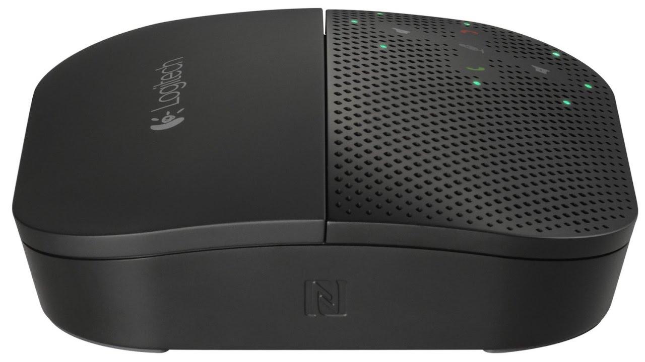 c6b75a7a288 Review Logitech Mobile Speakerphone P710e - YouTube
