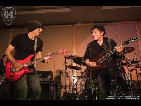 "Neal Schon & Joe Satriani Blues Jam ""Red House"" at G4 Experience 1.6.19"
