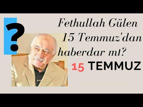 Fethullah Gülen 15 Temmuz&39;u biliyor muydu?