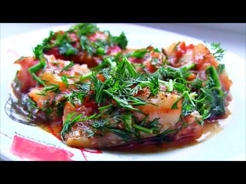 Вкусная рыбка на ужин за 20 минут / Хек в томатном соусе в духовке