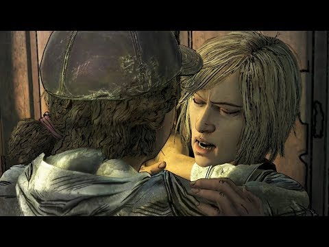 Violet Betraying Clementine in the Prison -All Choices- The Walking Dead Final Season Episode 3