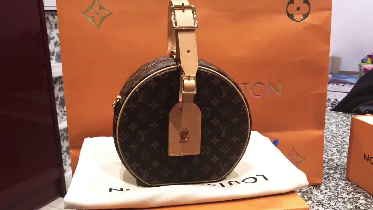 0b1370f2b9f3 Louis Vuitton Small box cap or petit boite chapeau en monogramme 2018