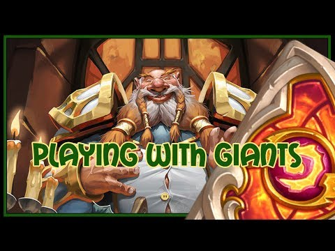 Hearthstone: Playing with giants (combo priest)