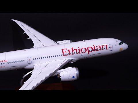Zvezda 1/144  Ethiopian Airlines Boeing 787-8 Dreamliner PHOTO BUILD (즈베즈다 звезда 보잉 드림라이너 프라모델)