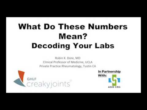 What Do Your Numbers Mean: Decoding Your Labs