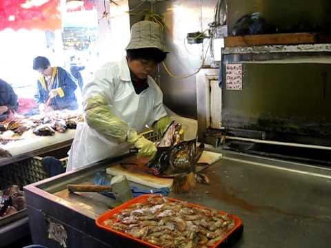 At a fishmarket in san francisco chinatown youtube for Chinatown fish market