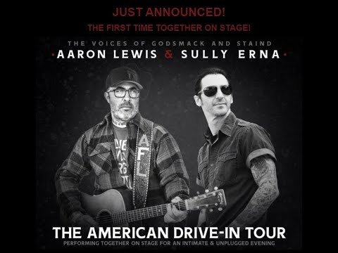 Staind's Aaron Lewis and Godsmack's Sully Erna tour 2020 'The American Drive-In Tour'