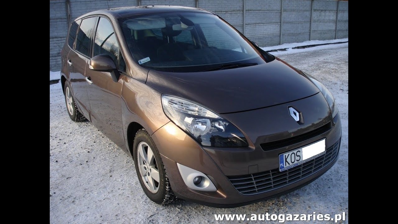 renault grand scenic iii 1 6 monta instalacji gazowej lpg youtube. Black Bedroom Furniture Sets. Home Design Ideas
