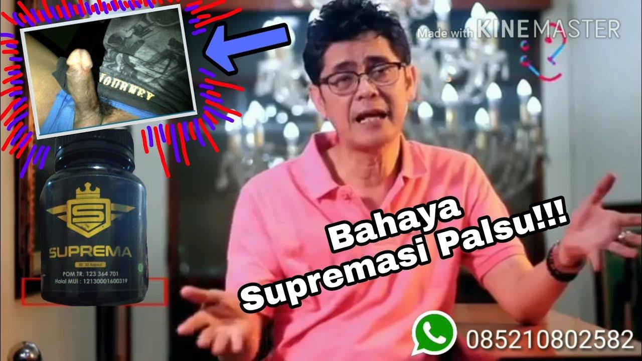 Obat Suprema menurut dr. Boyke 085210802582 Perbedaan Ciri Suprema Asli & Palsu!  Awas Bahaya!
