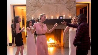 Jennifer Lawrence breaks out her dance moves at wedding