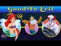 the little mermaid characters good to evil sequels
