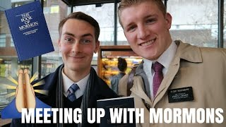 meeting up with mormons.