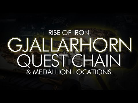 "Destiny - Gjallarhorn Full Quest Chain + Iron Medallion Locations -  ""Beauty in Destruction"" Details"