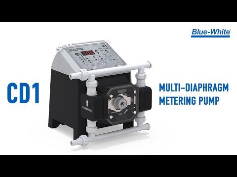 CHEM-FEED® CD1F - Multi-Diaphragm Metering Pump