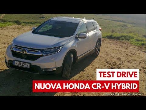 Nuova Honda CR-V Hybrid   Test Drive in Anteprima del primo SUV ibrido della casa