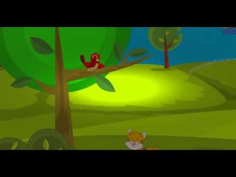 Little Robin Redbreast - English Nursery Rhyme With Lyrics