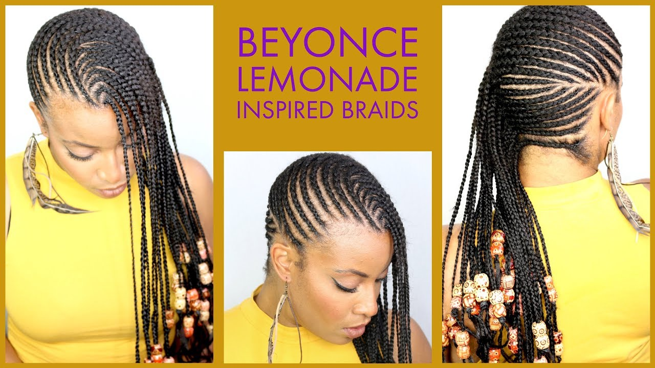 LEMONADE BRAIDS AND BEADS, BEYONCÉ INSPIRED